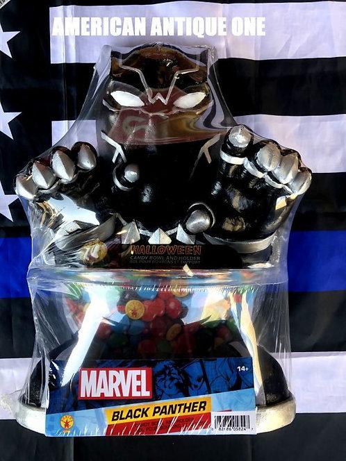 新品未開封 大きめ38cm ブラックパンサー アメリカンキャラクター★キャンディーボール 発泡スチロール製 ルービーズ