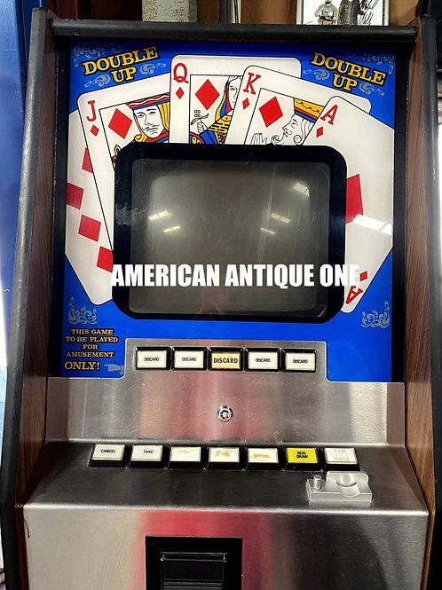 USA直輸入 ダブルアップポーカー 155cm×59cm アーケードゲーム USA直輸入