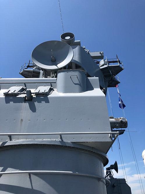 戦艦アイオワ レーダー