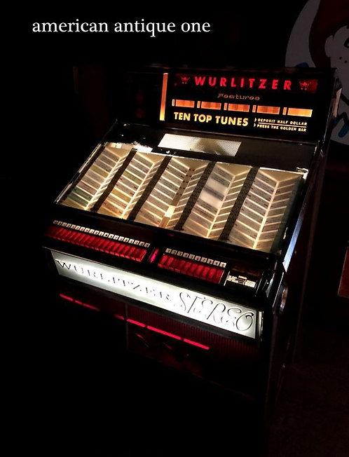 超激レア!! 1963年 アメリカ・ジュークボックス WURLITZER社 動作確認OK レトロサウンド 139cm