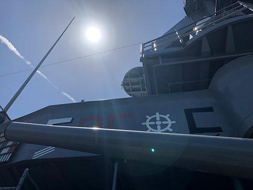 戦艦アイオワ 船内019