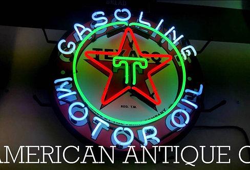 Texaco Gas Station Neon