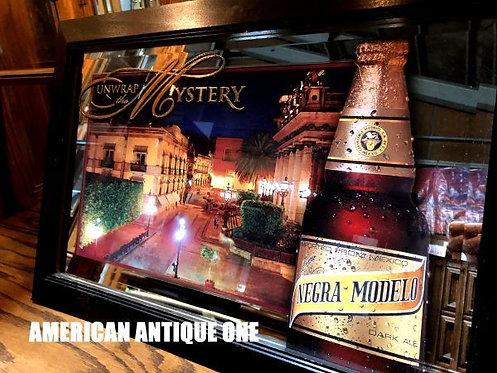 大型67cm ネグラ・モデロ メキシコビール アメリカ・ミラー 看板 壁掛けOK!! USA直輸入