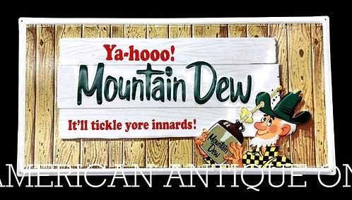 Mountain Dew Iron Sign