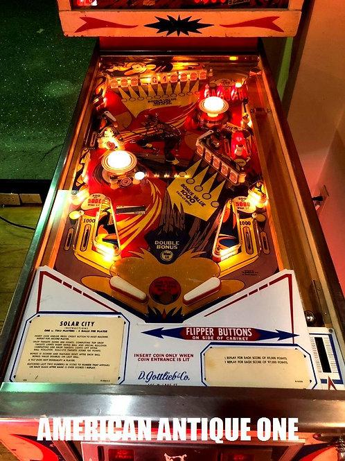 1976年 ヴィンテージ USA ピンボールマシン なんと動作OK