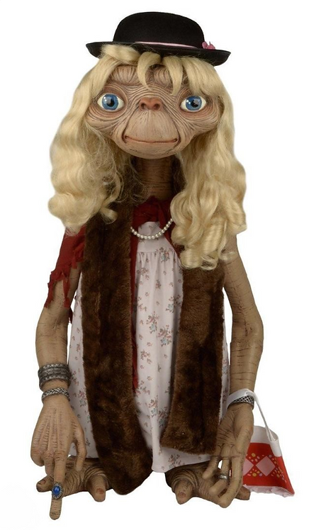 E.T. ドレスアップバージョン 等身大フィギュア 名シーン再現