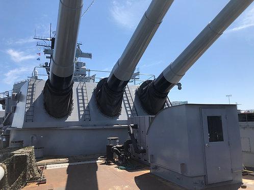 戦艦アイオワ 大砲