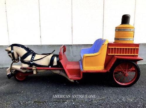 お洒落空間演出^^ アメリカ 1970年代 激レア!! 大型全長175cm アンティーク馬車 WAVEGUIDE SWITCH R-654884