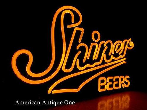 Shiner BEERS neon