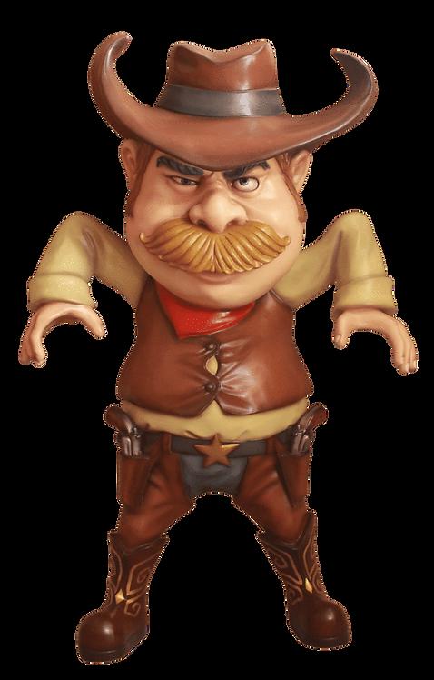 Comic Cowboy / Life Size
