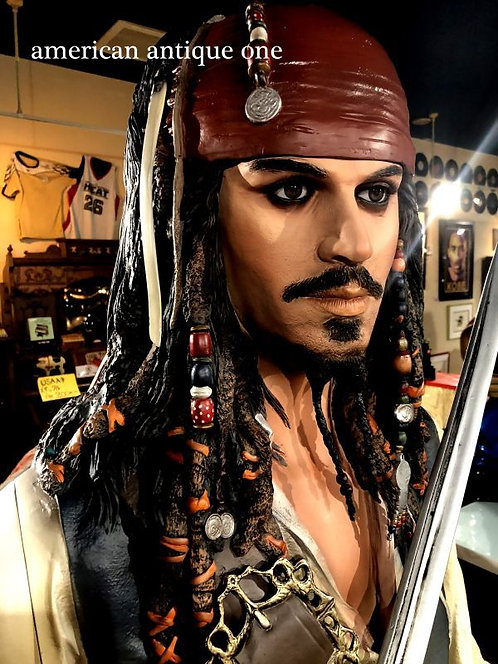Jack Sparrow Pirates of the Caribbean / muckle mannequin