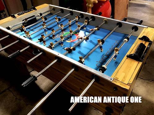 家族、友人と大盛り上がり間違いなし★大型139cm!! 木製 本格テーブル・フットボールゲーム USA直輸入
