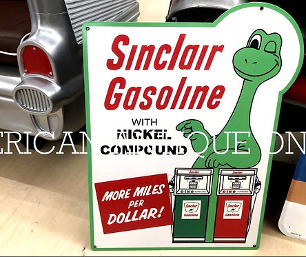 Sinclair Gas Station Sign