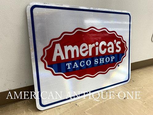 Interstate highway Signboard / America's Taco Shop