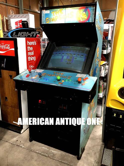 激レア!! アメリカ・ゲーセン中古品 1991年 シンプソンズ 4人プレイ アーケードゲーム コナミ制作 USA直輸入