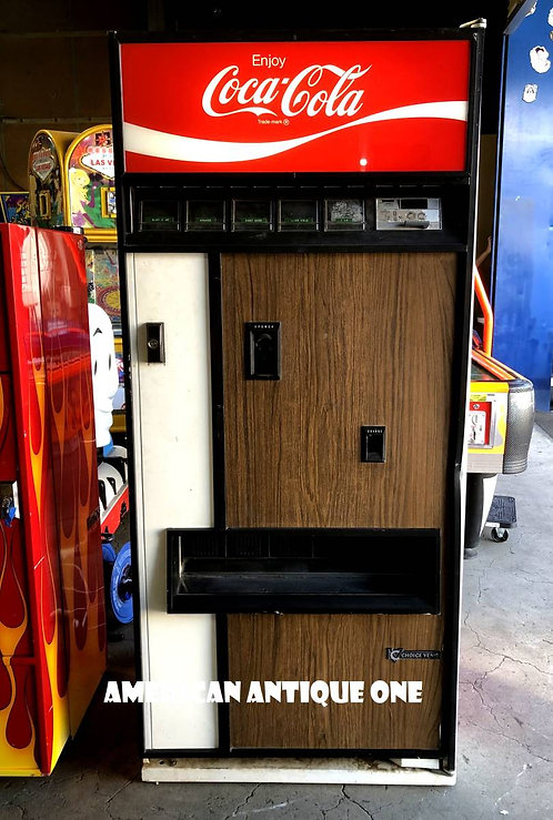 Coca-Cola vintage vending machine