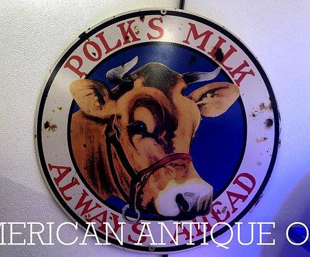 Pork's Milk signboard