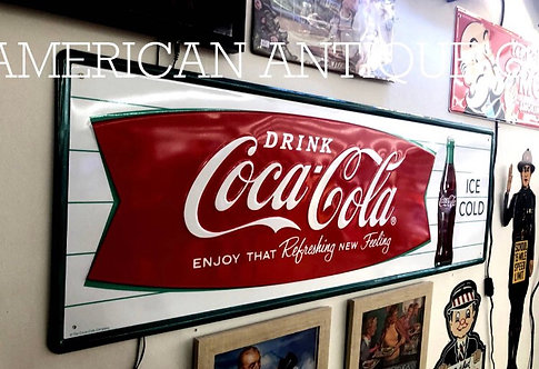 Limited to 500  Coca-Cola Signboard