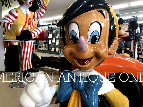 Limited 50!! Pinocchio Disney / Life-size Figure