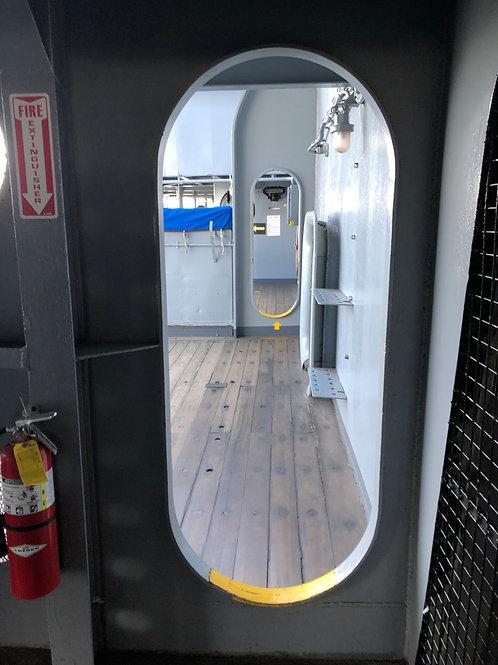 戦艦アイオワ 船内021