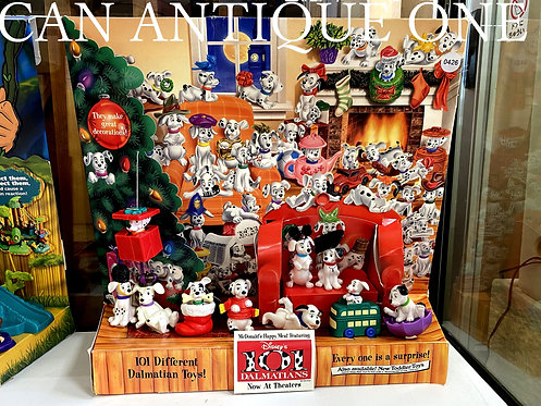 One Hundred and One Dalmatians McDonald's Happy Set