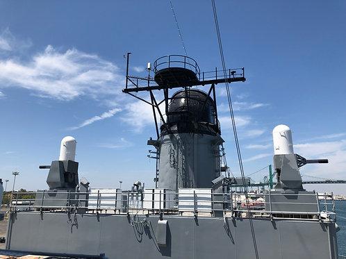 戦艦アイオワ 船内035
