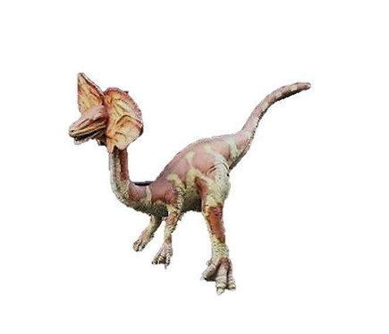 恐竜◆ディロフォサウルス 等身大フィギュア