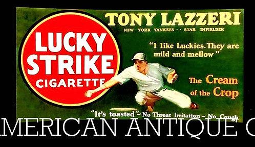 Lucky Strike × Tony Lazeri Stand-up Sign
