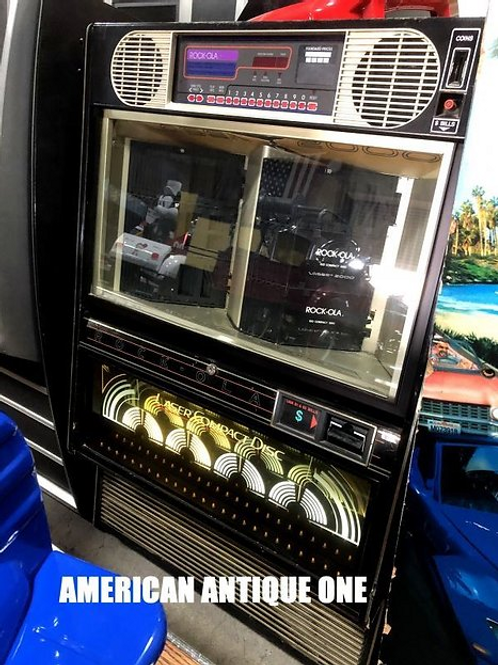 ロッコーラ社 レーザー2000 鍵付き CDジュークボックス ヴィンテージ USA直輸入