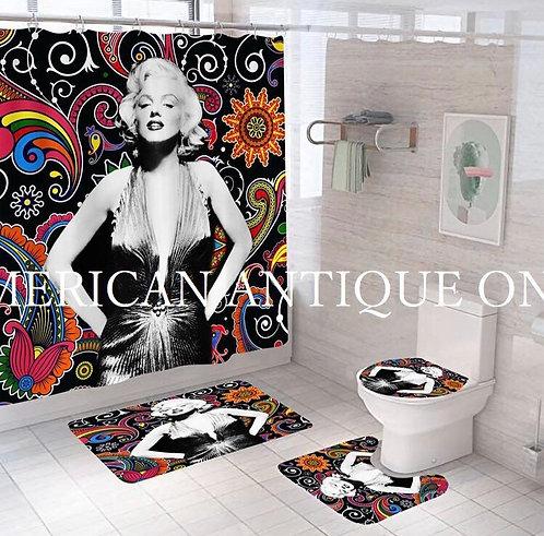 Marilyn Monroe Shower Curtain Set