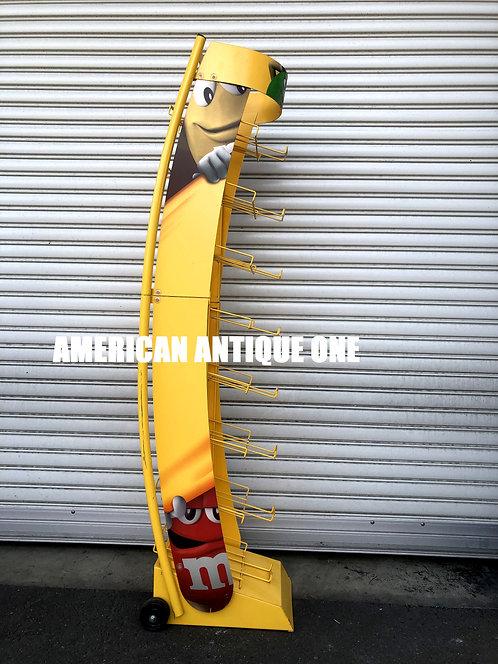 USA非売品 エムアンドエムズ 商品陳列棚 ディスプレイ キャスター付き