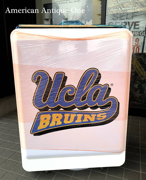 珍しいから人気者に♪  新品 大型92cm UCLA ブルーインズ ライトビール アイスボックス キャスター付