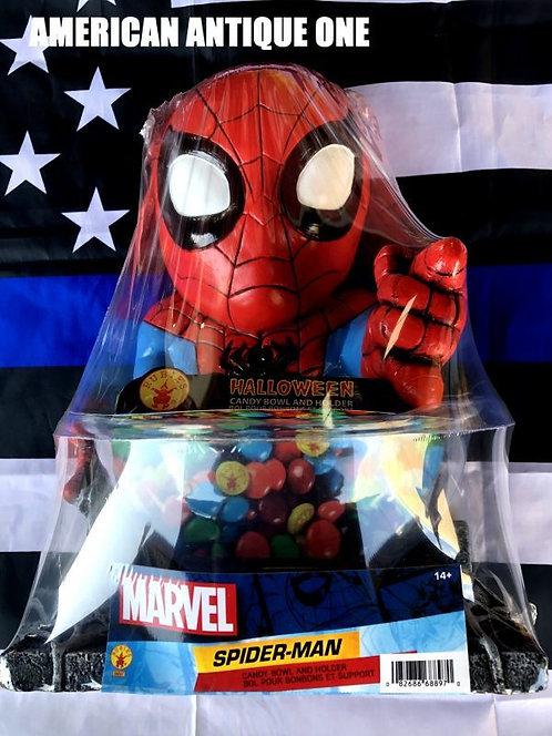 新品未開封 大きめ37cm スパイダーマン アメリカンキャラクター★キャンディーボール ルービーズ 発泡スチロール製