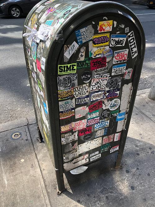 ニューヨーク ゴミ箱