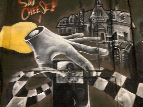 ニューヨーク 壁アート01
