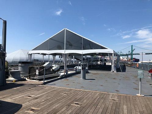 戦艦アイオワ デッキ