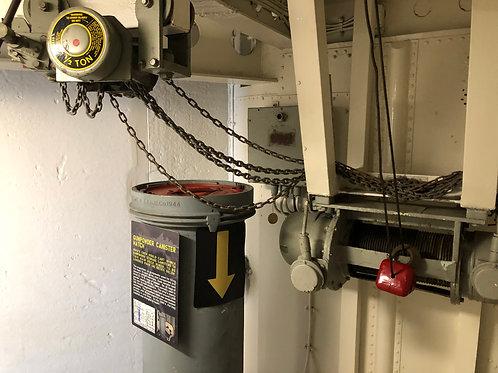 戦艦アイオワ 船内08