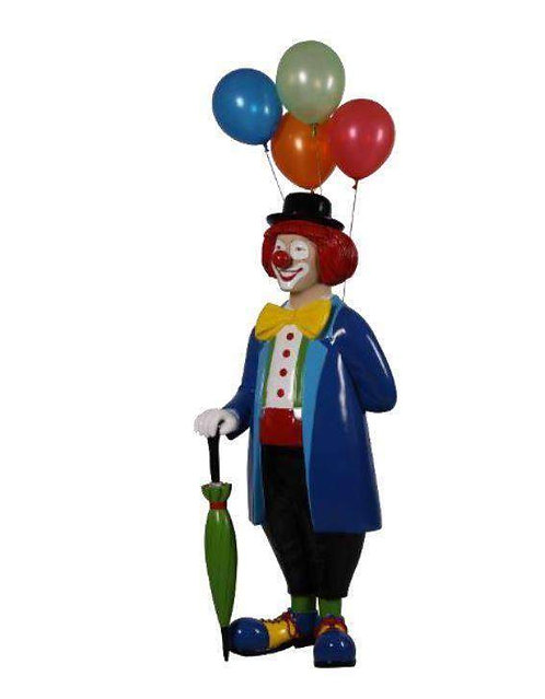 Clown with Balloons / Life Size