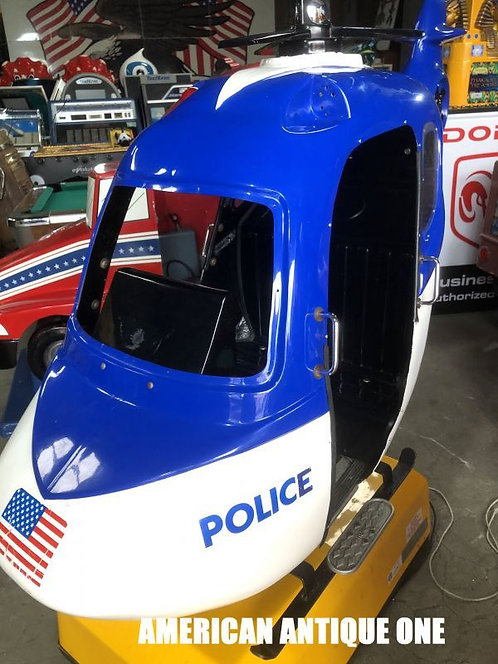 American Police Helicopter / Ride on
