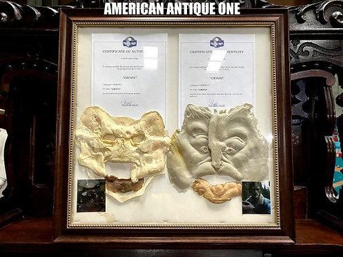 海外人気ドラマ グリムで実際に使用 2011年 ラット・キング & 魔女の逆襲  ドラマ着用マスク 額入り、証明書付き USA直輸入