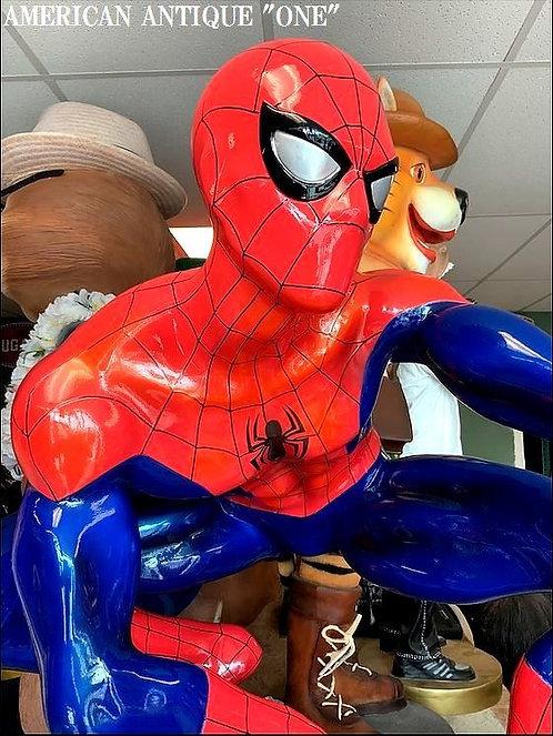 光沢があり一味違う!! 重い!! スパイダーマン/ 非売品 USAディズニーストアのディスプレイ 等身大フィギュア