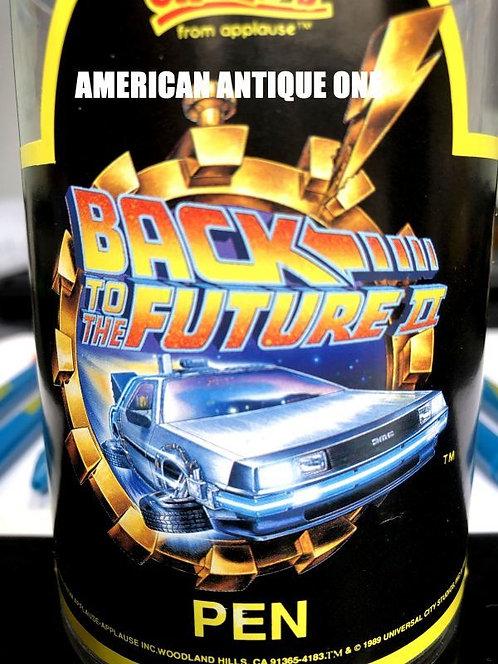 1989年 非売品のペン立て付き!! バック・トゥ・ザ・フューチャー2 映画記念 ボールペン 10本セット USA直輸入
