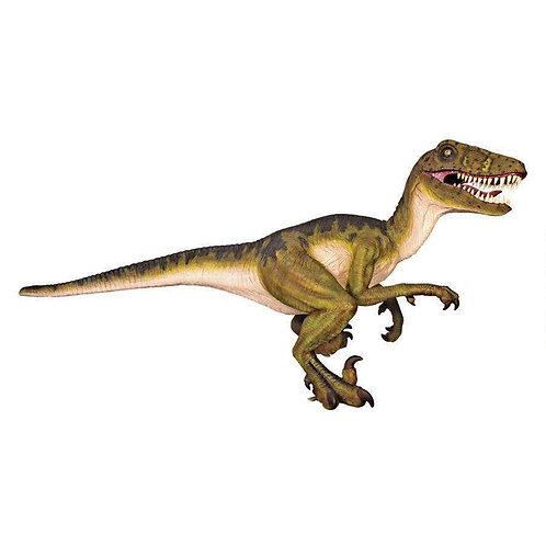 恐竜◆ドロマエオサウルス 等身大フィギュア