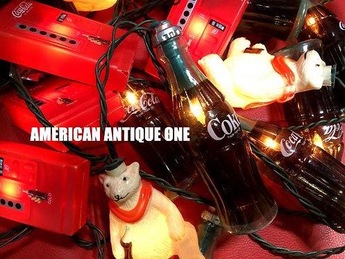 アメリカ・コカコーラ 非売品 なんと最長780cm!! ペッパーランプ 様々な用途に^^ 点灯OK!!