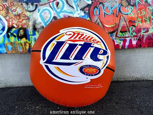 USA非売品 2004年 大型60㎝ ミラービール エアバルーン バスケットボール  USA直輸入