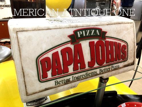 Papa John's Pizza / Car Topper