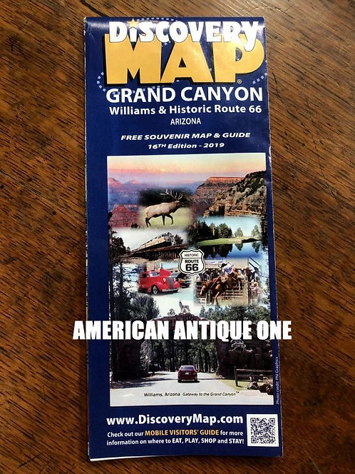GRAND CANYON / ROUTE66 MAP