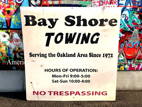 Bay Shore TOWING / TV SHOW PROP!?