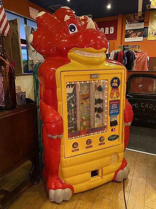 アメリカ直輸入^^ 巨大205cm 恐竜 コインスター おもちゃの自動販売機 光る!!