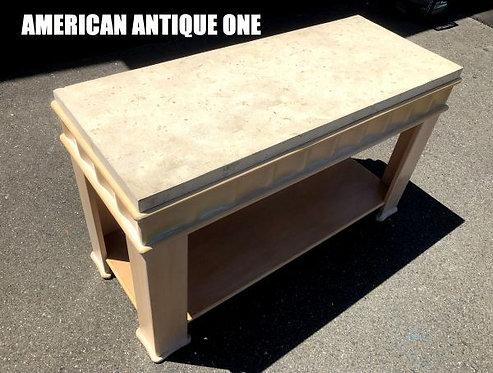 サイズ132cm 石膏 コレッツォーネ・ヨーロッパ社 センターテーブル アンティーク家具 USA直輸入